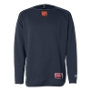 Rawlings - Long Sleeve Flatback Mesh Fleece Pullover - CHIEFS / FM